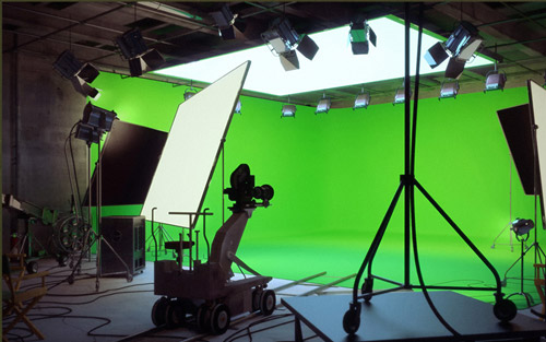 chroma key studio Roma