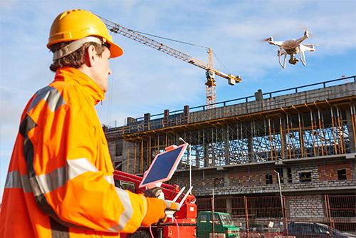 drone utilizzato per lavoro