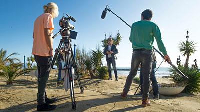 Stage operatore video Cinema e televisione
