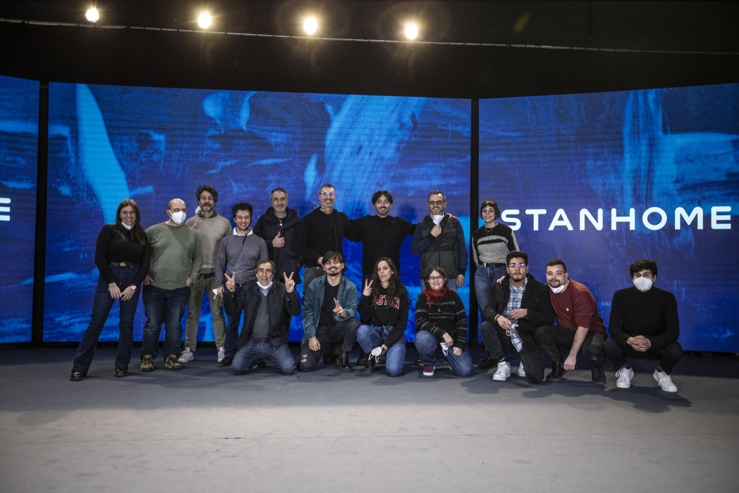 Evento Digitale Stanhome Streaming Ledwall Roma