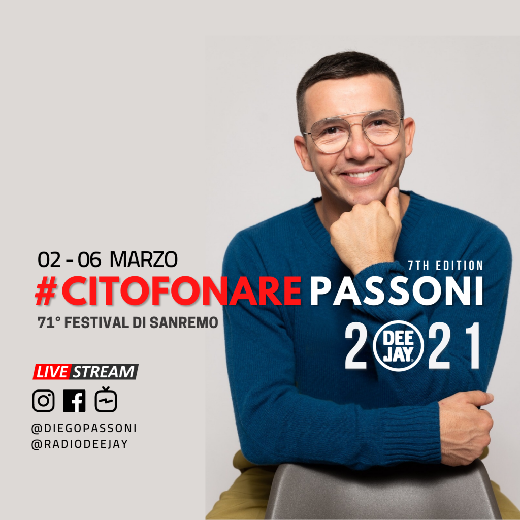 Radio Deejay Troupe Eng Milano Festival Canzone
