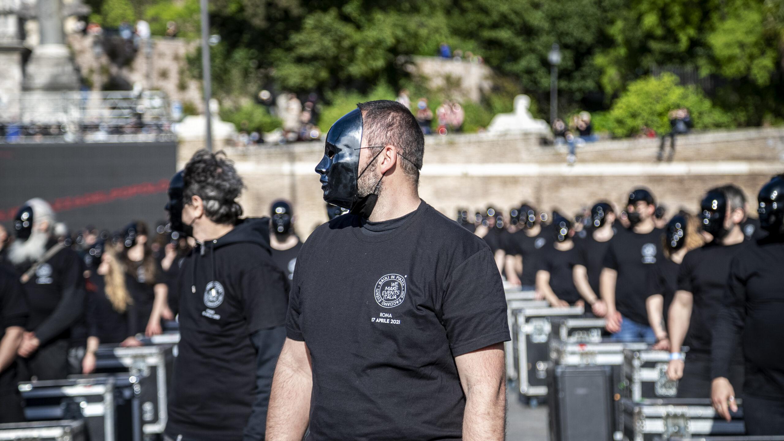 Ars Abruzzo Lo Spettacolo reportage fotograficoProtesta